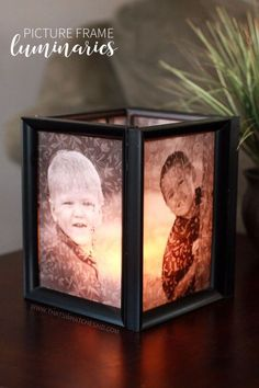 Cool Gifts to Make For Mom - Picture Frame Luminaries - DIY Gift Ideas and Christmas Presents for Your Mother, Mother-In-Law, Grandma, Stepmom - Creative , Holiday Crafts and Cheap DIY Gifts for The Holidays - Thoughtful Homemade Spa Day Gifts, Creative Wall Art, Special Ideas for Her - Easy Xmas Gifts to Make With Step by Step Tutorials and Instructions http://diyjoy.com/cheap-holiday-gift-ideas-to-make