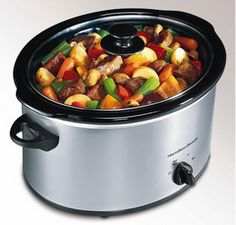 50 different slowcooker/crock pot recipes.  A few look really good, like mac and cheese and orange chicken.
