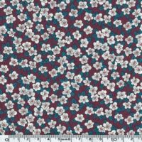 Liberty Ffion prune coloris D 20 x 137 cm