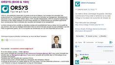 Entreprise – Expertise - Communication /  Retrouvez Orsys et ses intervenants dans la Presse / / Radio Voltage - Novembre 2015 / Dominique Acquaviva - Directeur Commercial Orsys /Découvrez nos offres d'emploi : http://www.orsys.fr/?mode=recrutement