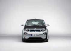 Frontal coche eléctrico - BMW i3