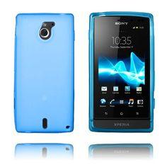 GelCase (Blå) Sony Xperia Sola Deksel Sony Xperia