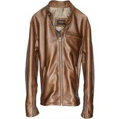 R79 Leather Jacket Hazelnut Vintage Fit - Lambskin $379.95