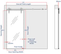 Sliding Door Dimensions
