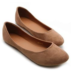 Ollio Womens Ballet Flats Loafers Comfort Light Faux Suede Low Heels Brown Shoes Ollio, http://www.amazon.com/dp/B0090OO35K/ref=cm_sw_r_pi_dp_Nlrlrb1MT2Q87
