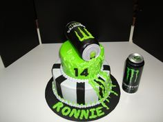 monster energy drink birthday cakes - Bing Images