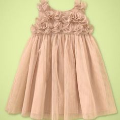 I am thinking flower girl dress :) @ Bailey Williams and Jessica Freeman gap.com