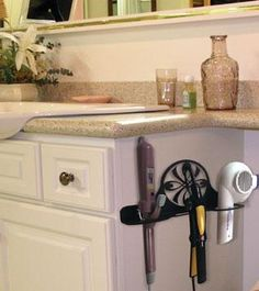 Hair Dryerstorage Equipment For Bathroom | ... Of Bathrooms That I Know Of