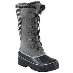 Lands' End women's Hillary tall snow boots, $99 landsend.com