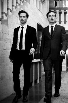 Volker Bruch & Tom Schilling - two of Germany's hottest men from the movie 'Generation War'