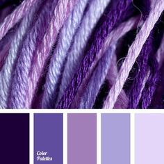 A sky blue palette in pastel shades. Gray, pink, green shades create an interesting composition. Milky shade freshens it up and this palette doesn't look d. Colour Pallette, Color Palate, Colour Schemes, Color Combos, Color Patterns, Lavender Color Scheme, Purple Color Palettes, Purple Palette, Purple Hues