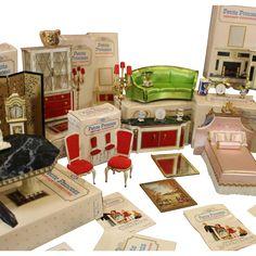 'Petite Princess' - Fantasy Furniture - Dollhouse Fun ! from honeyandshars on Ruby Lane