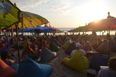 After beach, drink, sunset, Kuta, Indonesia