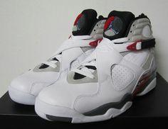 3a16a66011ad Youth Air Jordan VIII Boys Shoe Bugs White Hyper Blue True Red Flint Grey  305381 103