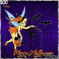 Halloween Wishes, Mickey Mouse Halloween, Halloween Gif, Halloween Queen, Halloween Clipart, Disney Halloween, Halloween Horror, Tinkerbell And Friends, Tinkerbell Disney