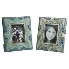As seen on HGTV's Flipping the Block, Episode 5 – The Guest Room: 2-Piece Hannah Picture Frame Set