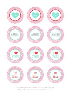 All sizes | valentines day freebie printable tags | Flickr - Photo Sharing!