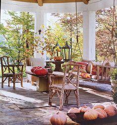 Susanne Kasler's designs outdoor space.  Architectural Digest - November 2012
