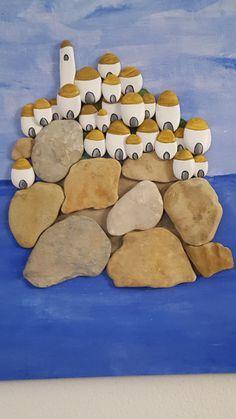 Sassi Dipinti Pebble Stone Art 'Il mare