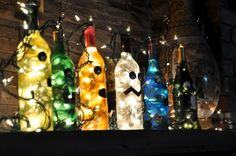 11 awesome things to make using empty wine bottles