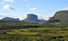 Morrão, no Parque Nacional da Chapada Diamantina, paisagens naturais que se revelam ao longo dos trekkings