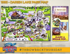 darien lake campground map 17 Best Maps Images Theme Park Darien Lake Map darien lake campground map