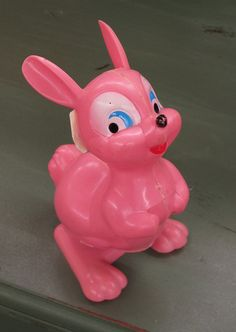 Vintage Easter Bunny Wind-Up Toy