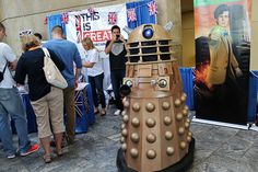 At the Baltimore Comic-Con this past weekend, the British Embassy in Washington celebrated what is GREAT about the comic book, science-fiction and creative industries throughout the UK. #DoctorWho