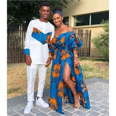 Updates from TribeOfAfrik on Etsy African Fashion trends Couples African Outfits, Couple Outfits, African Clothing For Men, African Attire, African Wear, African Style, African Women, African Wedding Attire, Latest African Fashion Dresses