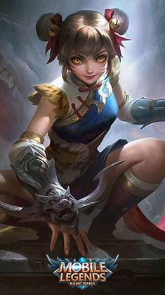 Click Now! Mobile Wallpaper Android, Mobile Legend Wallpaper, Hero Wallpaper, Bruno Mobile Legends, Miya Mobile Legends, Mobiles, Moba Legends, Alucard Mobile Legends, Funny Anime Pics