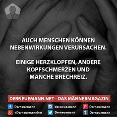 Nebenwirkungen #derneuemann #humor #lustig #spaß #sprüche #menschen