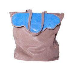 Cloud Tote Bag blu by Les Envers