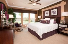 Master Bedroom : Hidden Cove Terrazzo - Brookstone Collection