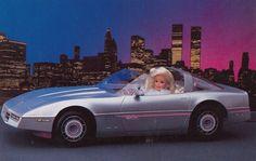 Barbie Corvettes