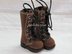 Blythe Pullip 1/6Doll Shoes Brown Boots Goodyblythe B60. $16.99/£10.99, via Etsy.