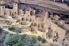 (Anasazi) Ancient Puebloen Ruins - Chaco Canyon, New Mexico