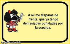 Mundo de Postales: A MI ME DISPARAS DE FRENTE!!