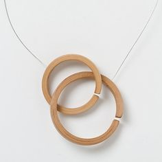 Hickory Rings Necklace- this necklace gives me an idea for another piece of jewlery I'd like to design