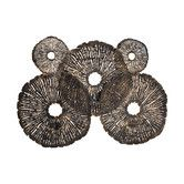 Found it at AllModern - Coral Discs Fire Screen Wall Decor