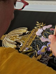 Tambour embroidery | Flickr - Photo Sharing!