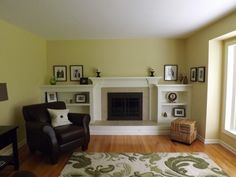 traditional living room by Fireplace Kitchen n Bath   I live/work in a town full of 50s living rooms and fireplaces, this is a good update