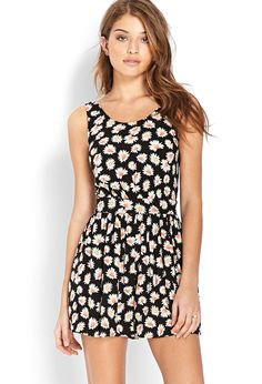Driving Daisies Romper | FOREVER21 - 2000124155