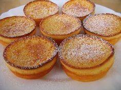 Portuguese Yogurt Tarts Recipe - Portuguese Recipes - Food Recipes from Portugal Donut Recipes, Tart Recipes, Cupcake Recipes, Baking Recipes, Sweet Recipes, Cupcake Cakes, Cupcakes, Dessert Recipes, Portuguese Desserts