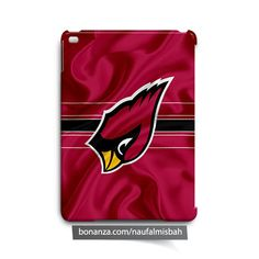 Arizona Cardinals Ruffles Silk iPad Air Mini 2 3 4 Case Cover