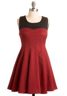 Be Carmine Dress - January 16, 2012 #modcloth #partydress