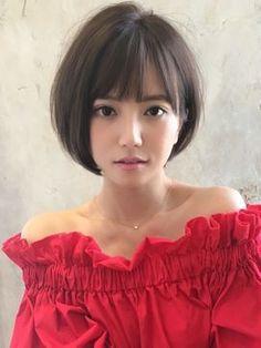 Pin by ron-tai-ra on hairstyle ヘアースタイル in 2019 Korean Short Haircut, Asian Short Hair, Girl Short Hair, Short Hair Cuts, My Hairstyle, Cute Hairstyles For Short Hair, Girl Hairstyles, Shot Hair Styles, Gorgeous Hair