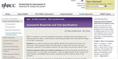 Hot off the presses! PARCC Assessment Blueprints and Test Specifications