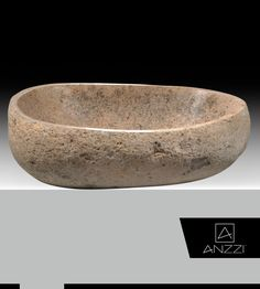 Silken Smooth Polished Interior Yellow River Stone Vessel Sinks - The natural beauty of our yellow river stone vessel sink complements many modern bathroom decor and styles. Click here: http://www.anzzi.com/product/anzzi-leopards-crest-ls-az159/ #BathroomSink #Sink #VesselSink #Sinks #VesselSinks #BathroomSinks