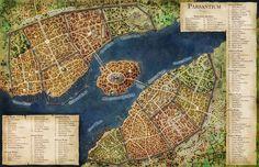 Parsantium City Map