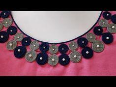 Quill neck design making/ very latest Chudidhar Neck Designs, Salwar Neck Designs, Neck Designs For Suits, Saree Blouse Neck Designs, Kurta Neck Design, Neckline Designs, Sleeves Designs For Dresses, Dress Neck Designs, Golden Blouse Designs